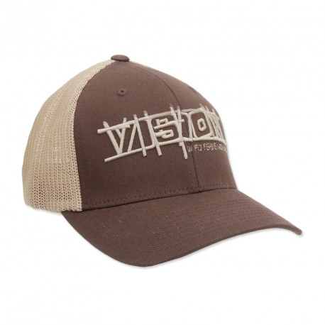 Vision Flexfit Trucker Brown